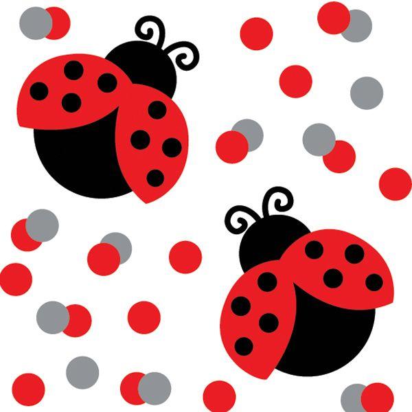 Number clipart ladybug #1
