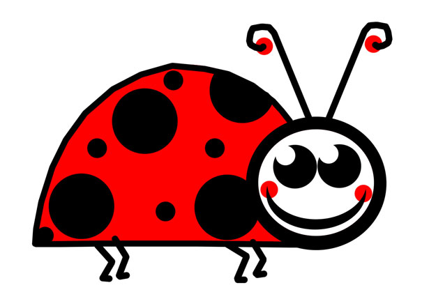 Bugs clipart jungle Photo ladybug Cute public image