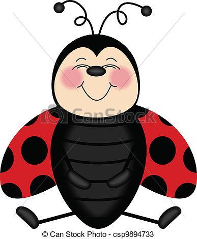 Lady Beetle clipart cute smile Ladybug Scalable Ladybug 22 vectorial