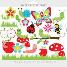 Lady Beetle clipart cute smile Bugs worm bug Graphics ladybug