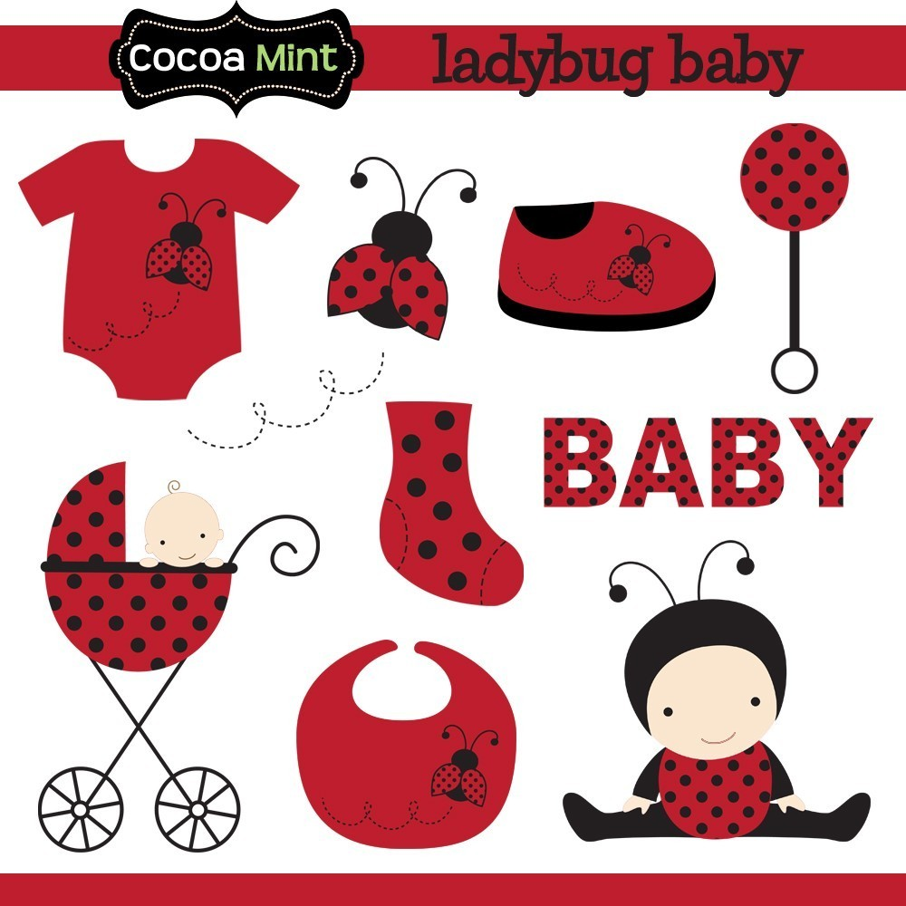 Lady Beetle clipart cute thing Art Clip  Baby Ladybug