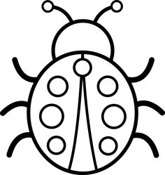Lady Beetle clipart insect Black Clipart clipart and bug