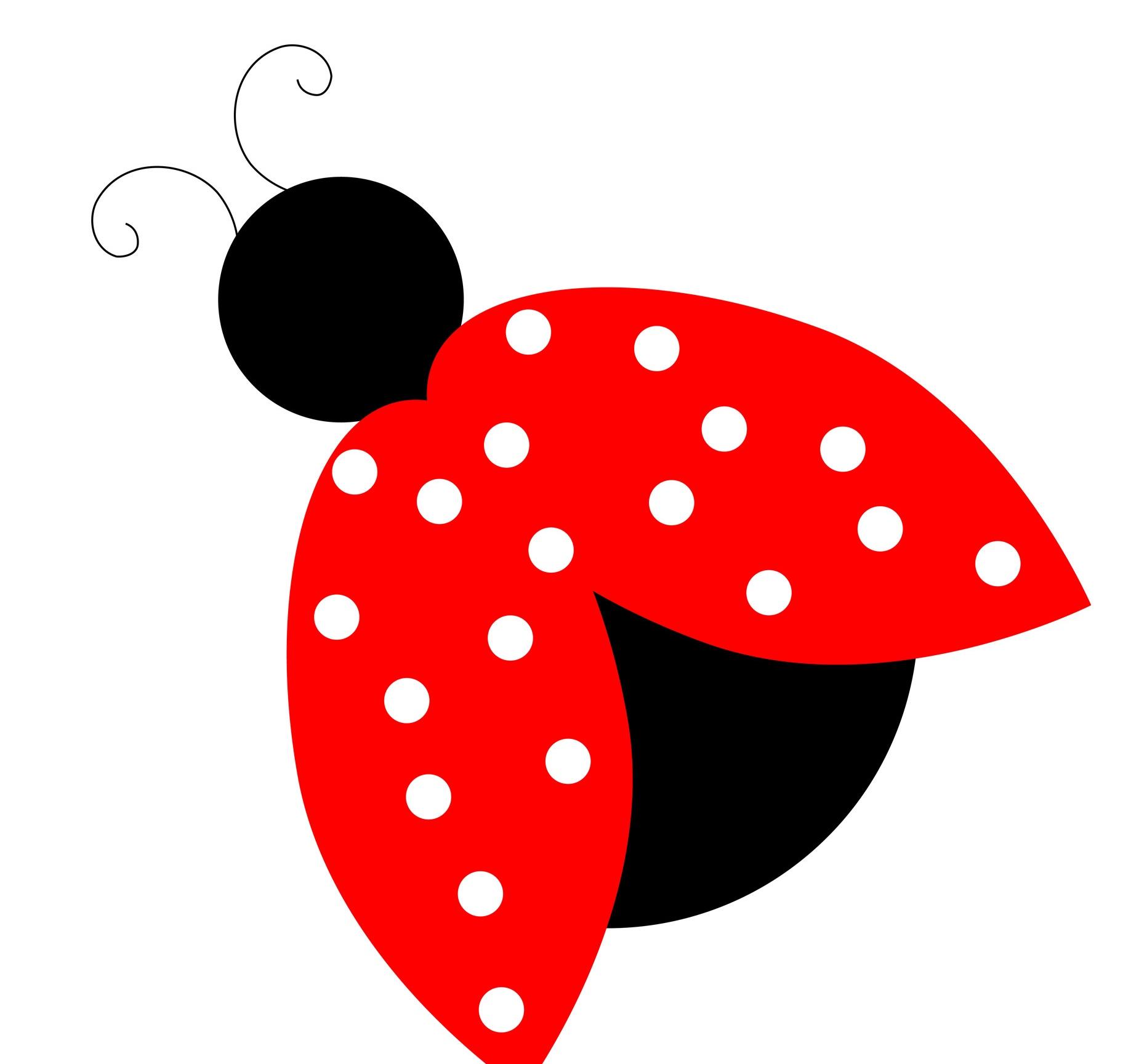 Bugs clipart ladybug Clip lady bug leaf art