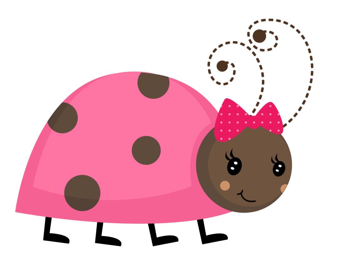 Bug clipart pink lady Baby Pink > For >
