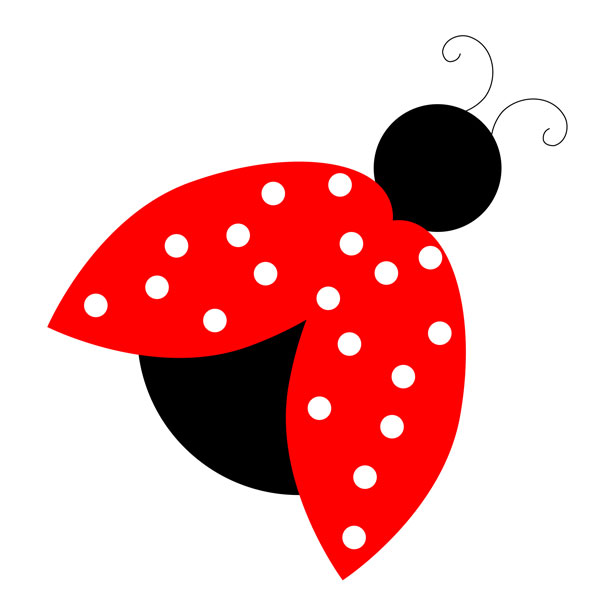 Bugs clipart flying lady Clipart free Ladybug clip lady
