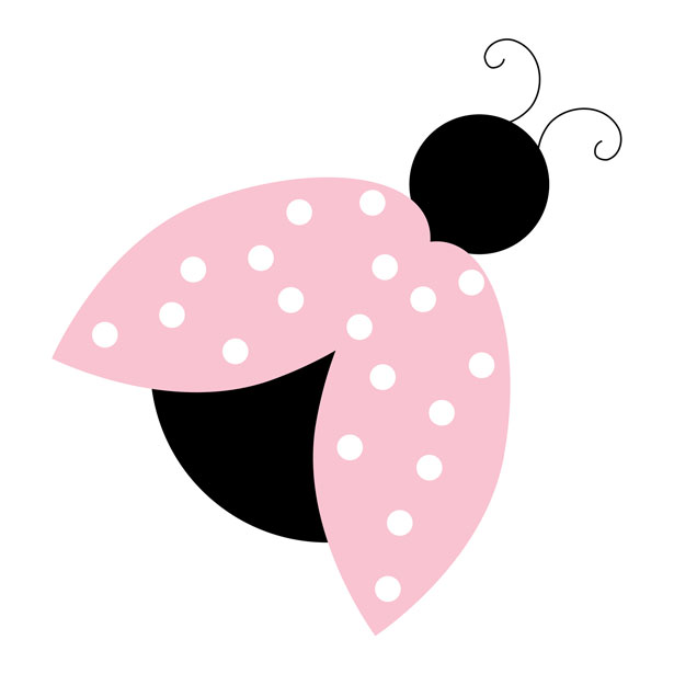 Bug clipart pink lady Pink Images Clipart Lady Free