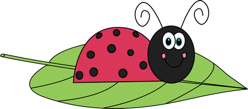 Bug clipart mycutegraphics Ladybug Art Clip Leaf a