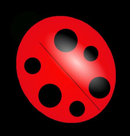 Number clipart ladybug #8
