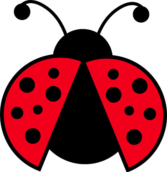 Number clipart ladybug #7