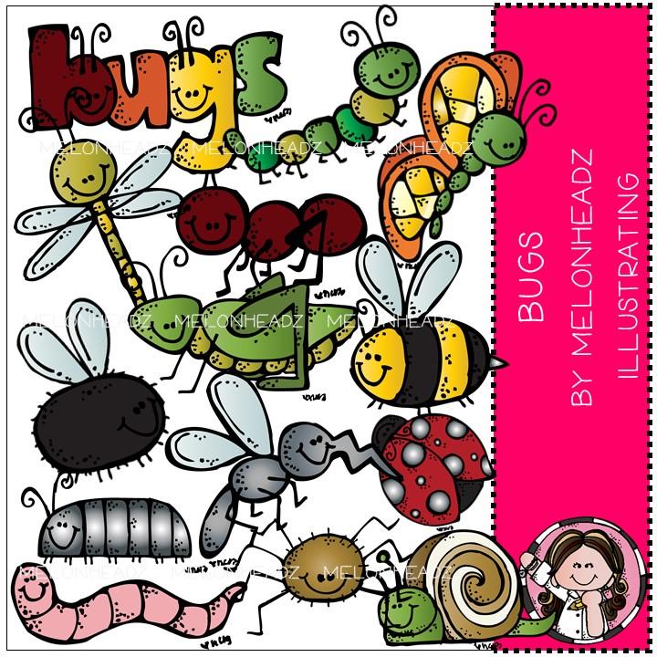 Bugs clipart melonheadz April 2013 US kidlette animals
