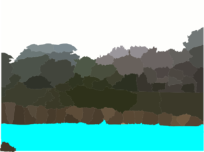 Lagoon clipart Clip Clker vector Clip at