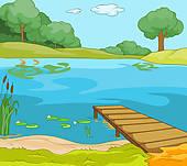 Lake clipart GoGraph Clip Art Free Royalty
