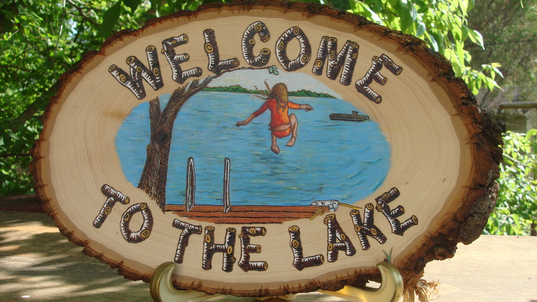 Cottage clipart lake cabin Clipart On Lake Lake On