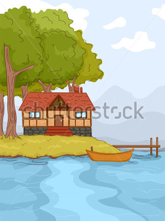 Cottage clipart lake cabin Clipart Cabin Cabin Gallery Clipart