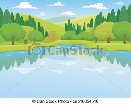 Scenery clipart simple #3