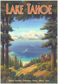 Lake Tahoe clipart Cars Map and Lake San