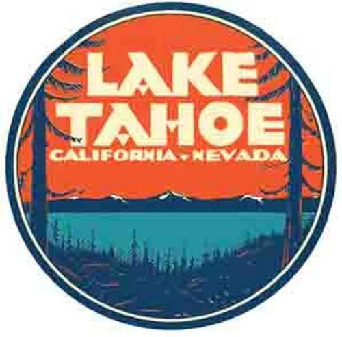 Lake Tahoe clipart Nevada on Label about inspiration