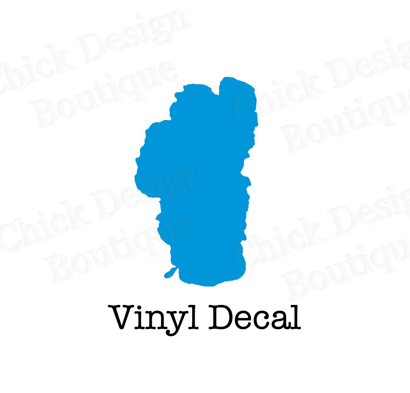 Lake Tahoe clipart Vinyl Lake Decal lake South