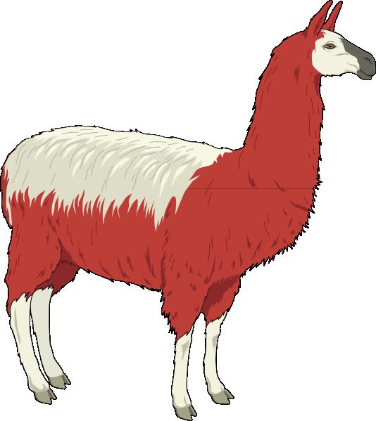 Lama clipart At Llama as: royalty art