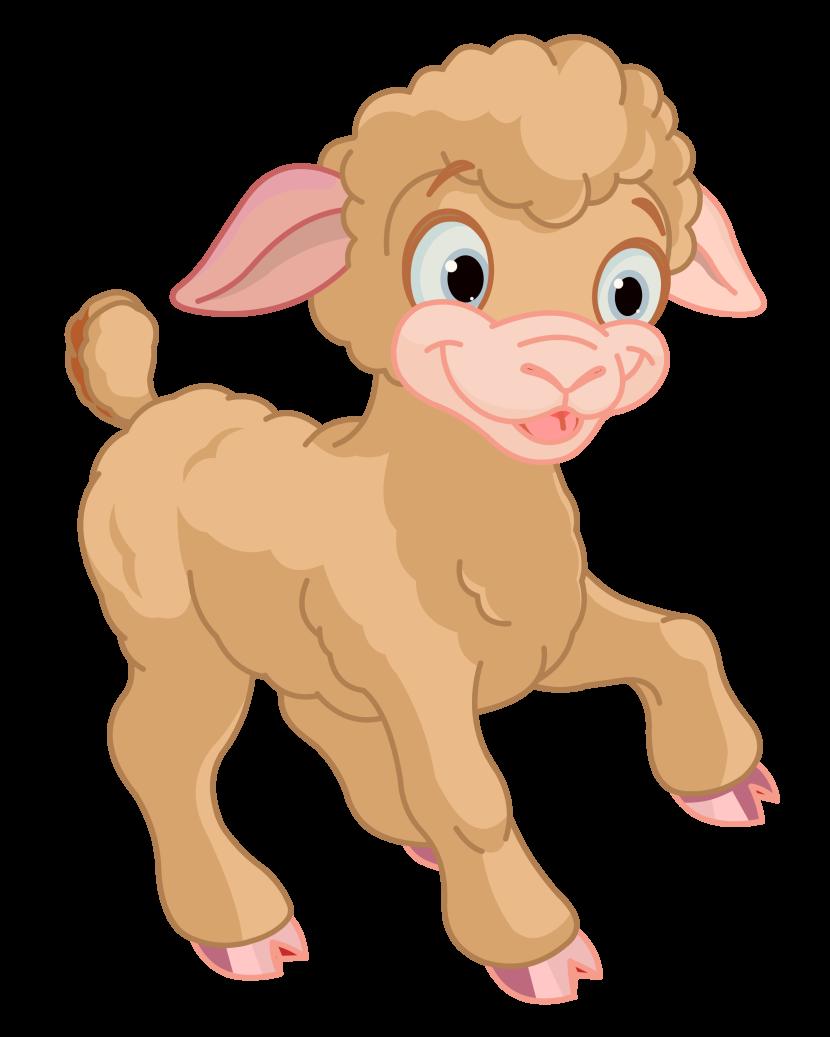 Lamb clipart #9