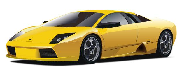 Lamborghini clipart #2