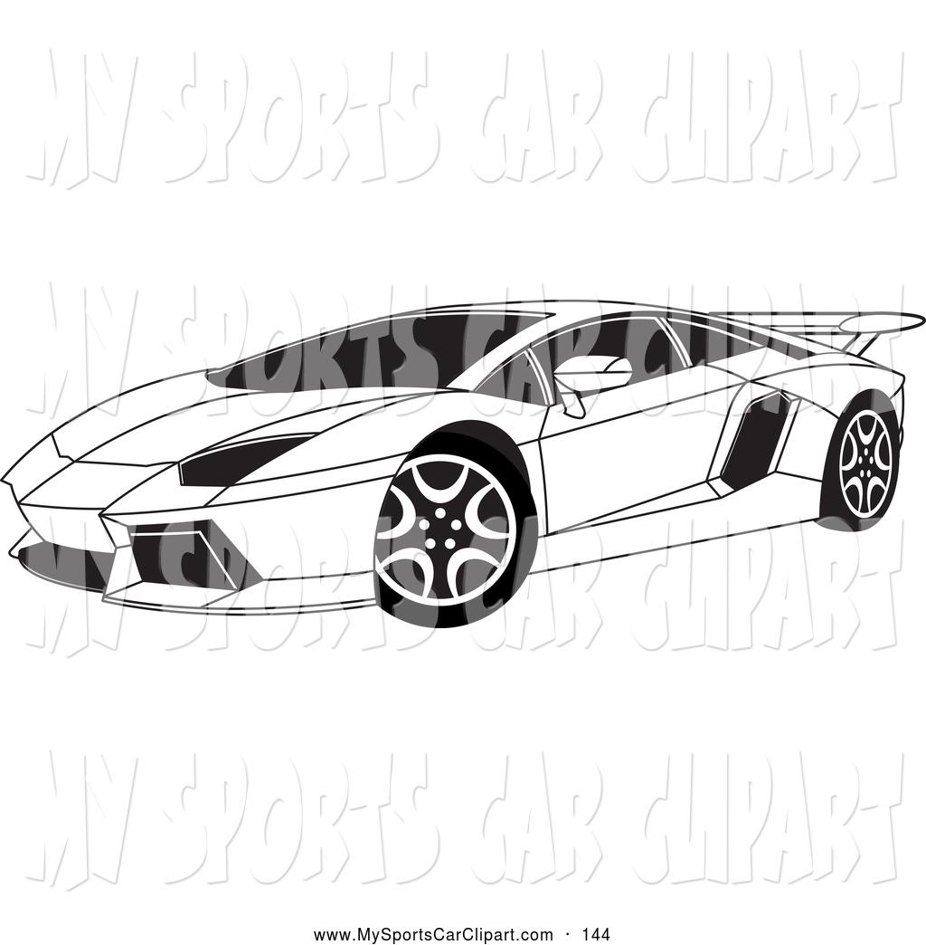 Lamborghini clipart lamborghini aventador Clip Art of and and