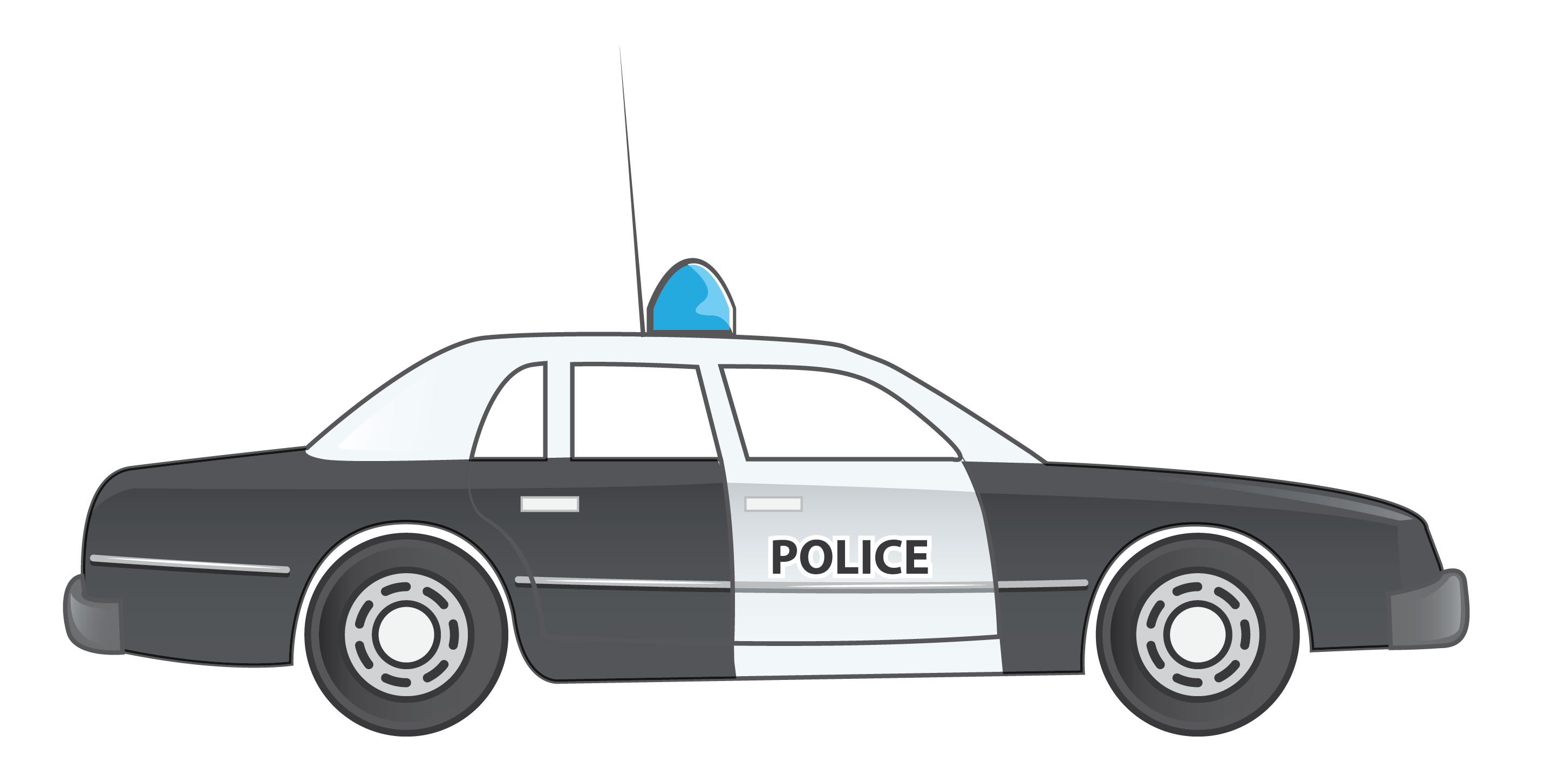Blue Car clipart side view png Art Police Clip Car For