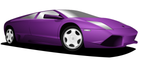 Lamborghini clipart silhouette Clip Lamborghini Art Car Automobil