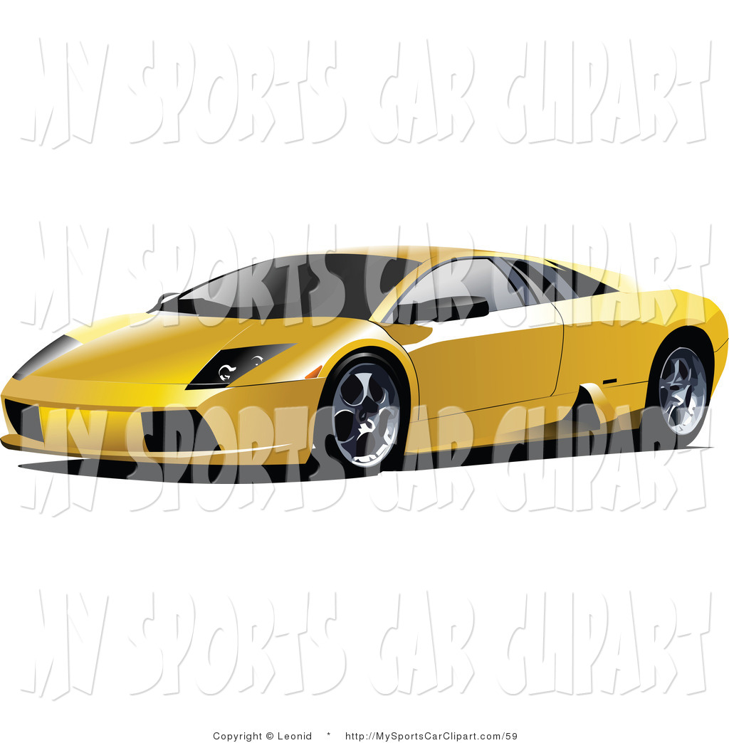 Lamborghini clipart sportscar Free Sports Car Car Left
