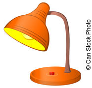 Lamp clipart With clip art Table electric