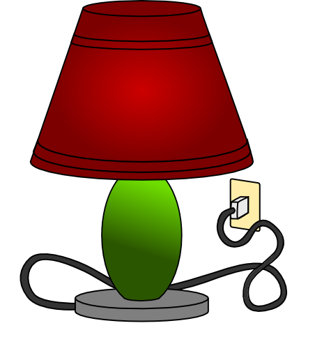 Lamp clipart Use Lamp Free Table to