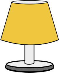 Lamp clipart To Domain Art Simple Free