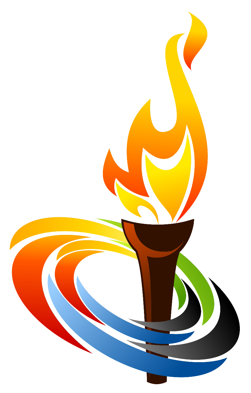 Torch clipart sport For Flame Torch on Torch