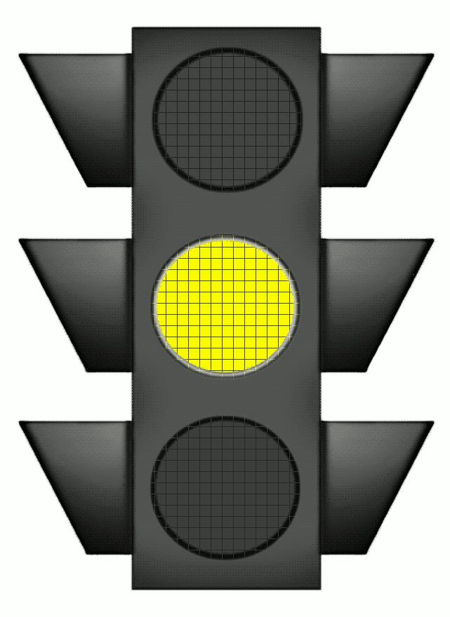 Traffic Light clipart amber Stop Yellow Light  Clipart