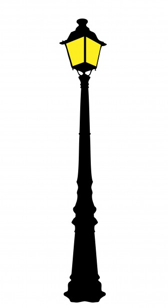 Street Light clipart post Post  svg vector post