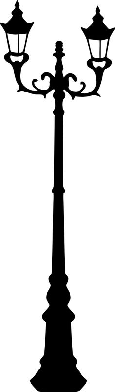 Lamp Post clipart black and white  Lamp Hanging lamp Stamp