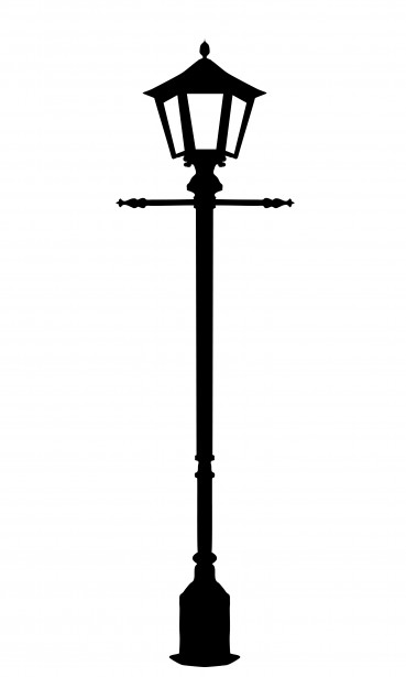 Lamp Post clipart black and white Photograph Stock Clipart old lamp
