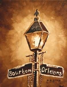 Lamp Post clipart bourbon street Lamp for paintings images post
