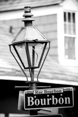 Lamp Post clipart bourbon street Mccoryjames Street Sign Sign and
