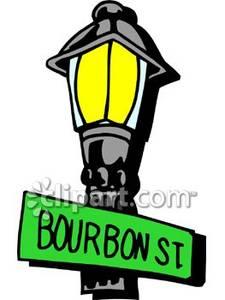 Lamp Post clipart bourbon street Art Clipart Bourbon Download Art