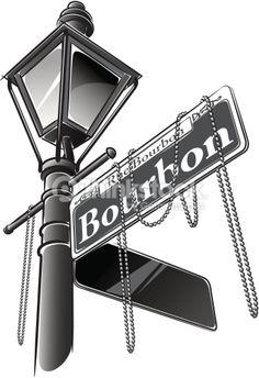 Lamp Post clipart bourbon street New lamp : result &