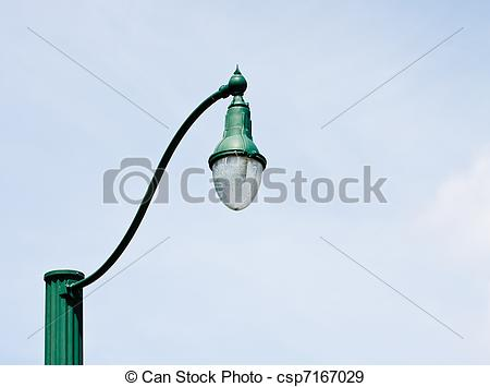 Lamp Post clipart old style Old fashioned + Style fashion