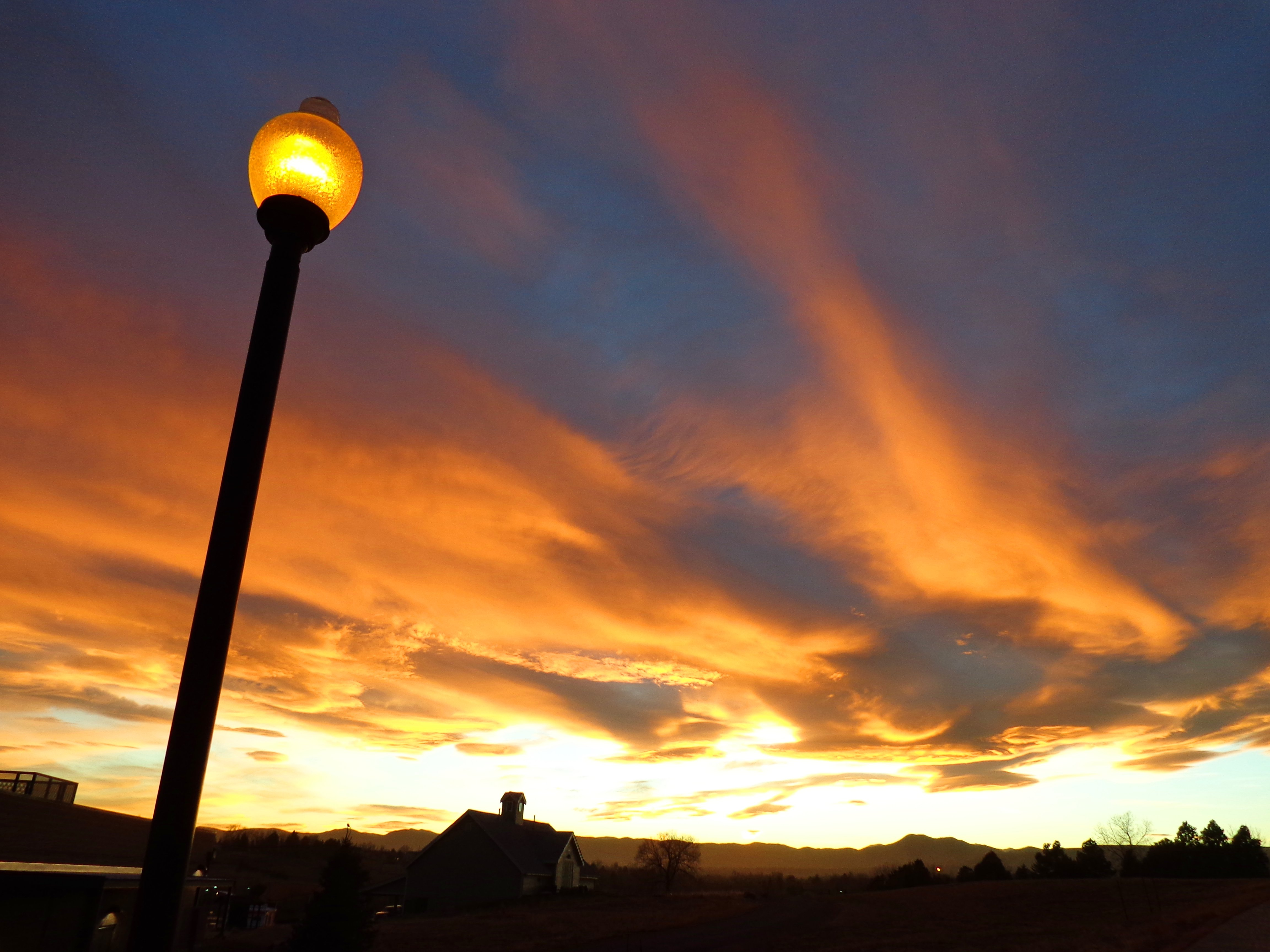 Lamp Post clipart public Lamp Sunset Domain Post with