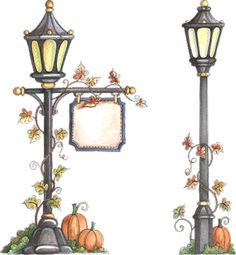 Lamp Post clipart traditional 444) gas style lamp solar