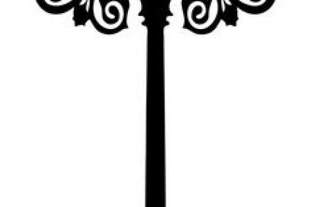 Lamp Post clipart victorian Lamp LED Post Drawings Lamps