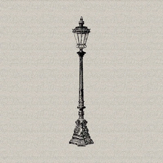 Lamp Post clipart vintage Street Signs on & Pillows