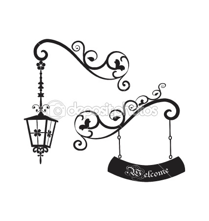Lamp Post clipart vintage Lights Street Pinterest shild and