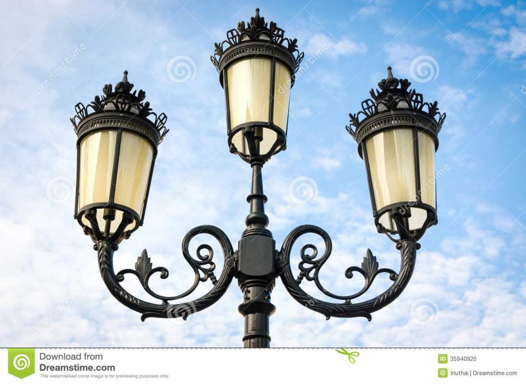 Lamp Post clipart vintage Clip Abcr Image – Lamp
