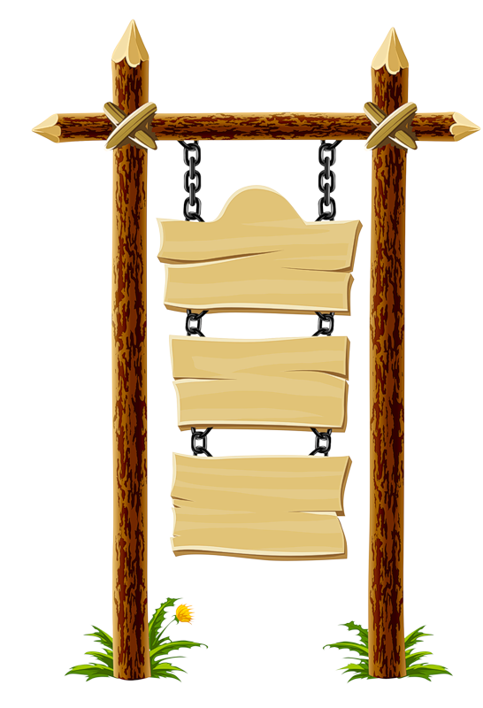 Wood clipart blank SIGN WOODEN  CLIPART ART