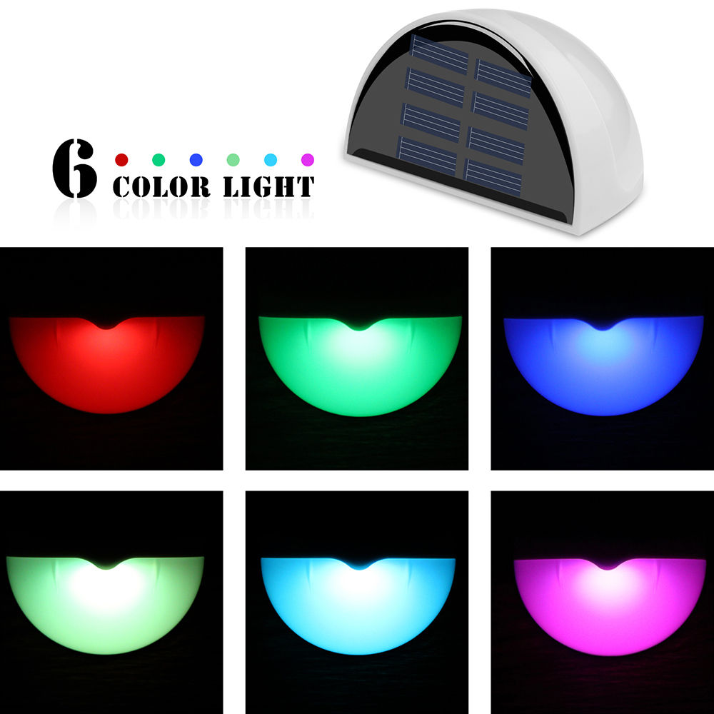 Lamp Post clipart yard Waterproof RGB eBay LED Fence
